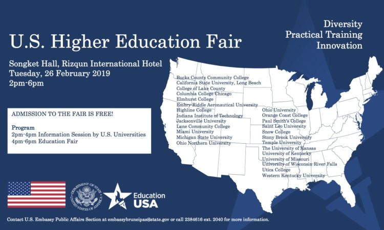 Higher Edu fair 2019 Poster